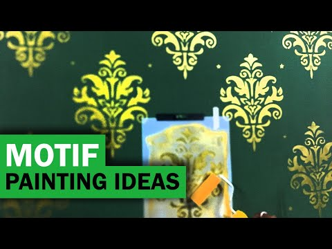 Wall painting designs and ideas, easy do it yourself