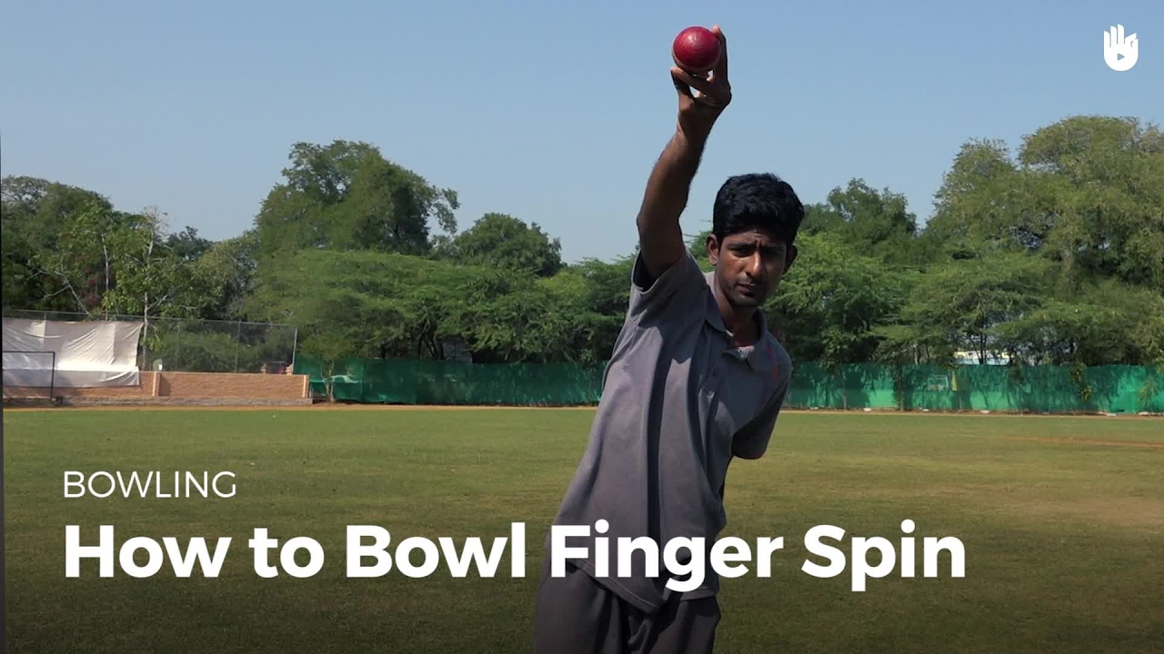 How to Bowl Finger Spin | Cricket
