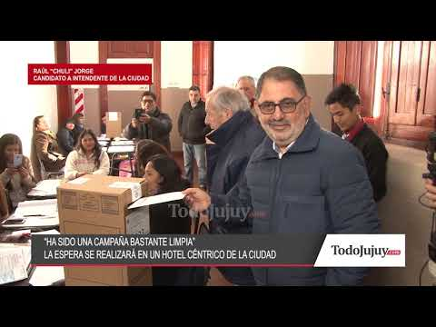 Así votaba Raúl Jorge