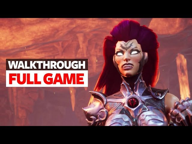 Darksiders 3 Walkthrough Part 1 - Full Game With Ending - Let's Play Darksiders 3 Story Mode