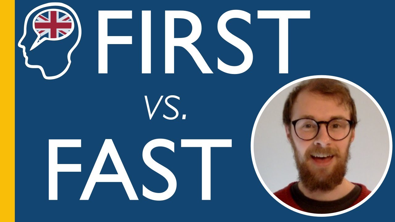 """How To Pronounce """"First"""" vs. """"Fast"""" In Standard British English"""