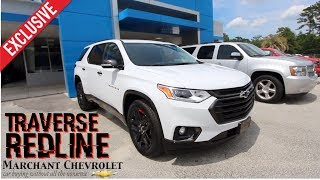 Here's the 2018 Chevrolet Traverse Premier REDLINE | In Depth Review @ Marchant Chevy