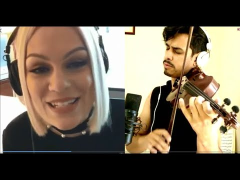 Amazing duet with Violin and Jessie J - Flashlight - by Douglas Mendes ao Violino