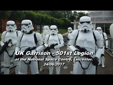 UK Garrison - 501st Legion at the National Space Centre, Leicester. 24/06/17