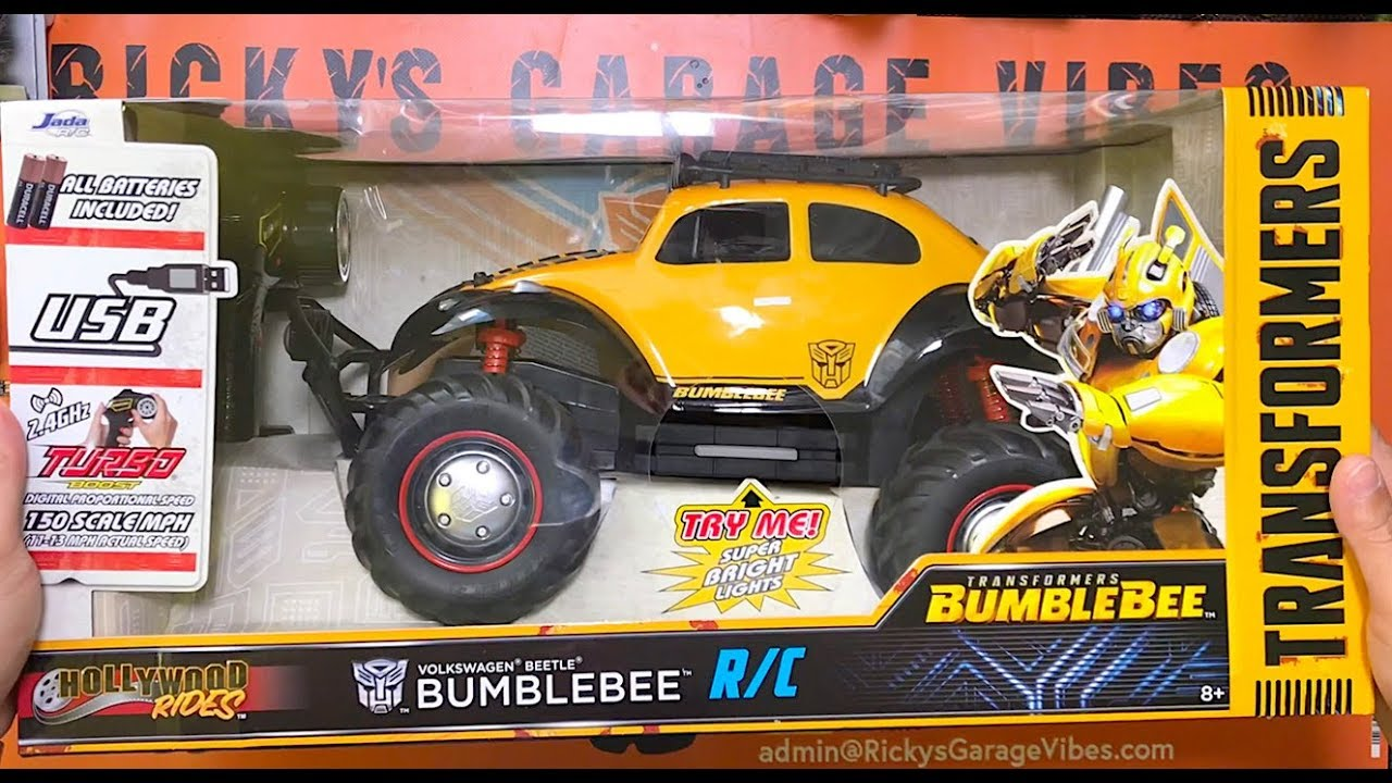 RC Bumblebee Transformers 🚕🐝👍 - YouTube