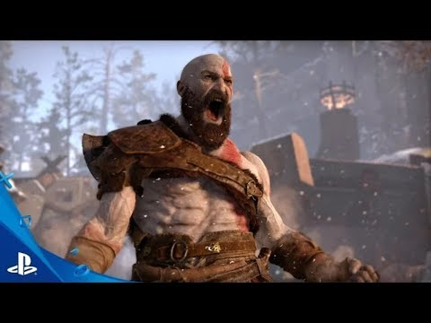 God Of War:- 4 Gameplay Trailer (E3 2017)-PS4