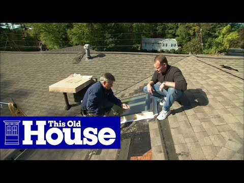 How to Replace a Leaky Skylight - This Old House
