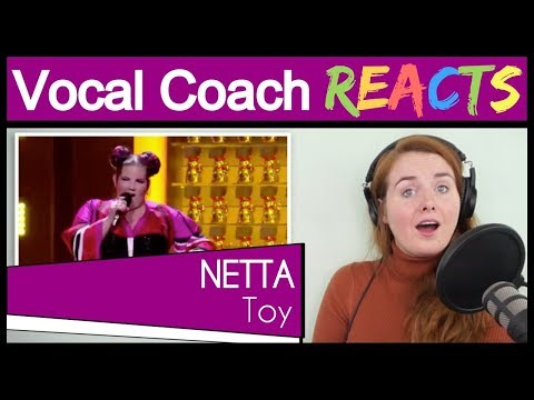 Vocal Coach Reacts To Netta - Toy - Israel - LIVE - Grand Final - Eurovision 2018