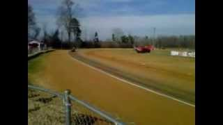 Racing Mower Test Super Modified Twin