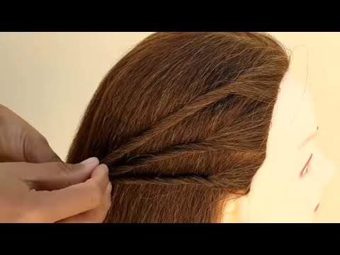 New Hairstyles Fashion Worlds Cute Girls Hairstyle Side Puff