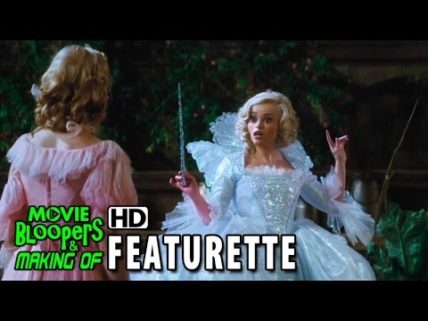 cinderella 2015 featurette fairy godmother youtube