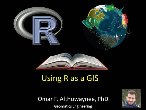 How to use R as GIS tools: here is my own learning experience