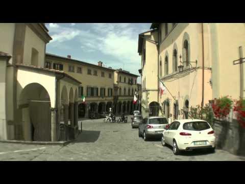 Poppi Italian village, Province Arezzo, Tuscay