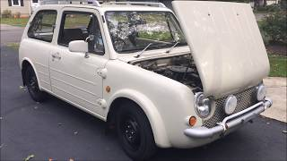 Nissan PAO Test Drive Undercarriage Many Cars