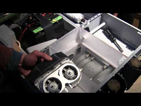 RC 1/6th scale Armortek Early Production Tiger video #8 (hull Bulkheads and engine compartment)