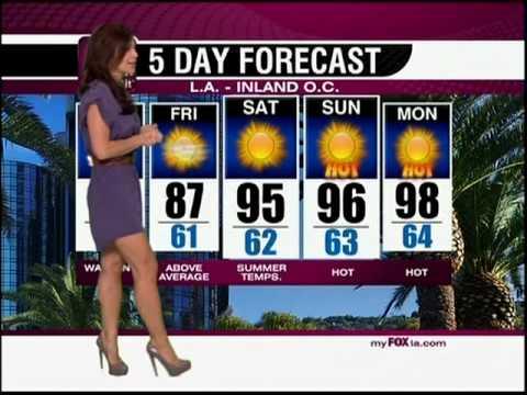 Lauren Sanchez skirting the weather 9232010