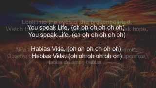 Speak Life Letra Español Inglés