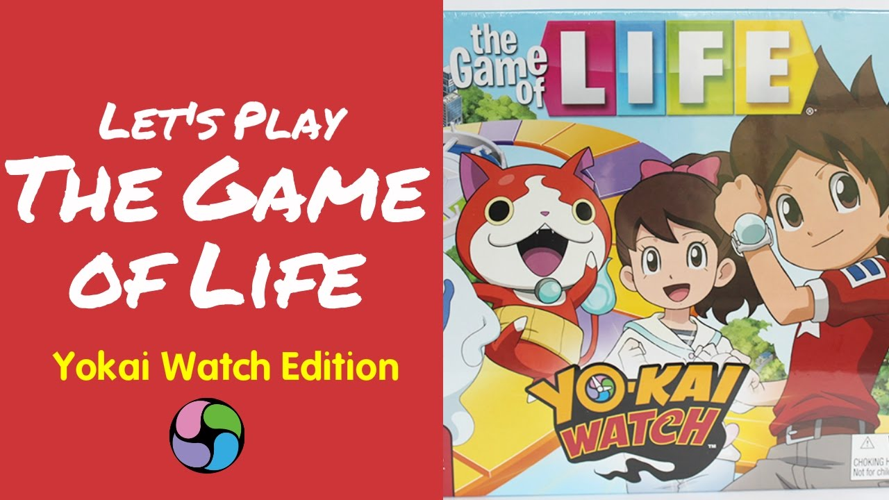 let s play the game of life yokai watch edition youtube