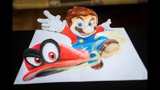 Speed Drawing: Super Mario Odyssey