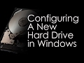 How to Configure a New Hard Drive in Windows (7, 8,10,Server) - Tech Bits