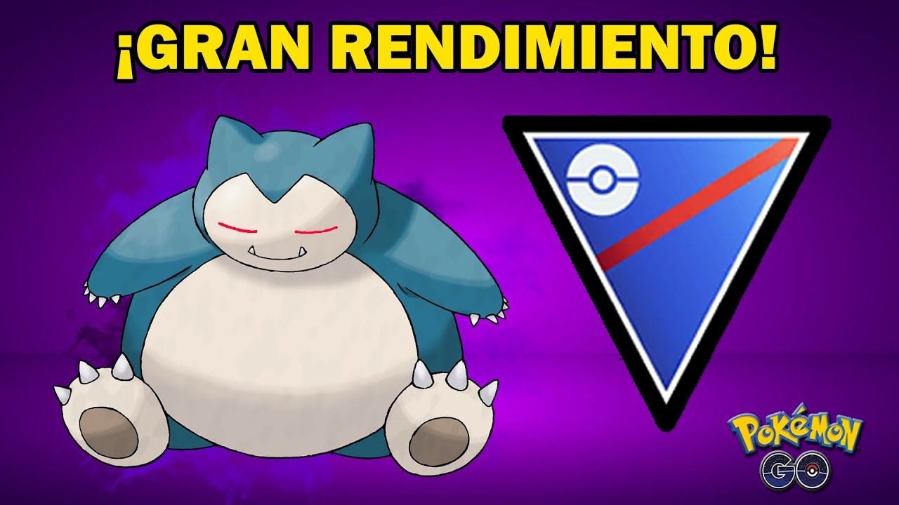 SNORLAX OSCURO con UN GRAN EQUIPO en LIGA 1500 GO BATTLE LEAGUE (PvP) - POKEMON GO