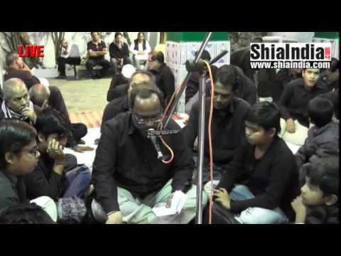 25th Safar Majlis at Mulla Razi Alawa Baniye Majlis Syed Hyder Hussain Razvi 1438-2016