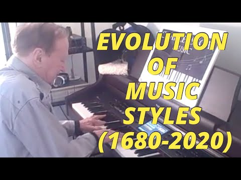 Evolution of Piano Styles - Charles Segal