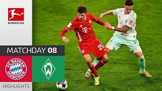 #fcbsvw | highlights from matchday 8!► sub now: https://redirect.bundesliga.com/_bwcs watch the bundesliga of fc bayern münchen vs. sv werder brem...