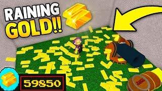 RAINING GOLD 'GLITCH' (20 Or chaque SECONDE) 💰 Construire un bateau pour Treasure ROBLOX