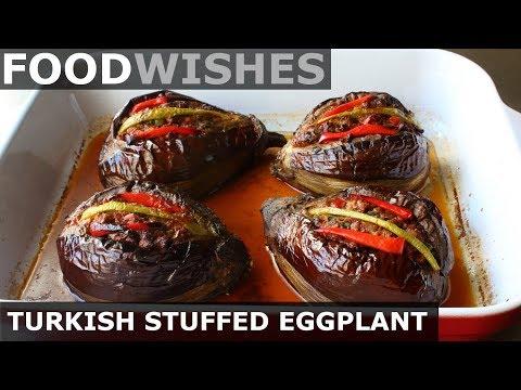 Turkish Stuffed Eggplant (Karniyarik) - Food Wishes