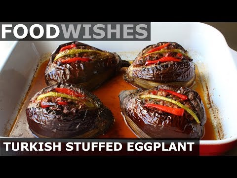 Turkish Stuffed Eggplant (Karniyarik) Food Wishes