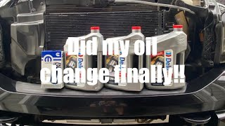 Oil change ON THE 6.7 CUMMINS!***