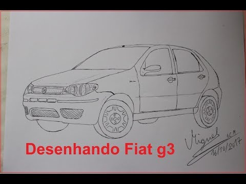 desenhando palio g3 brevemente tutorial youtube