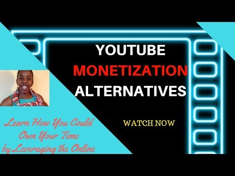 Youtube Monetization Alternatives | How to monetize Youtube without Adsense 2018