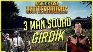 PUBG 3 MAN SQUAD 2.OLDUK (Pubg Sanhok 3 Man Squad)