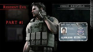 [RESIDENT EVIL HD REMASTER] Exploring the mansion. Gameplay #1(, 2015-07-30T22:08:30.000Z)