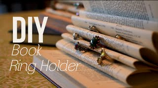 Diy Book Ring Holder
