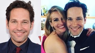 Paul Rudd Was Photographed With Julia Roberts, And People Just Can't Process His Ageless A.ppearance