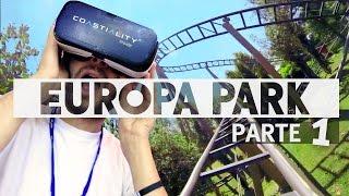 EUROPA PARK: El parque de los países europeos | Parte 1