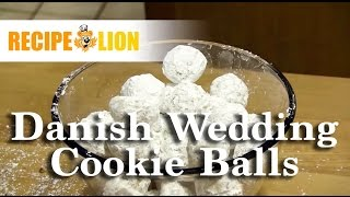 Danish Wedding Cookie Balls