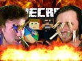 Minecraft Burning House | Clothespin Challenge