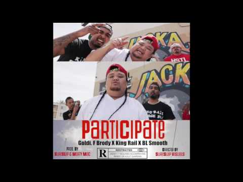 Goldi F. Brody ft. King Rail x BL Smooth - Participate Promo Video [BayAreaCompass] @TrapCityGOLDI
