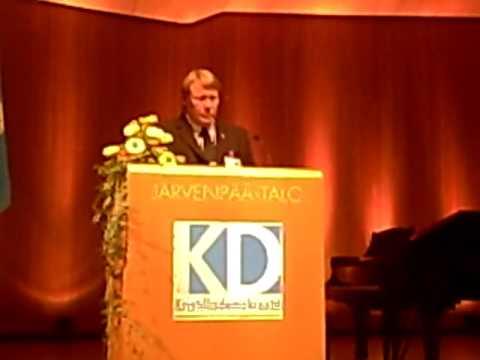 Kristillisdemokraatit Puoluekokous 2009 Avajaiset 1