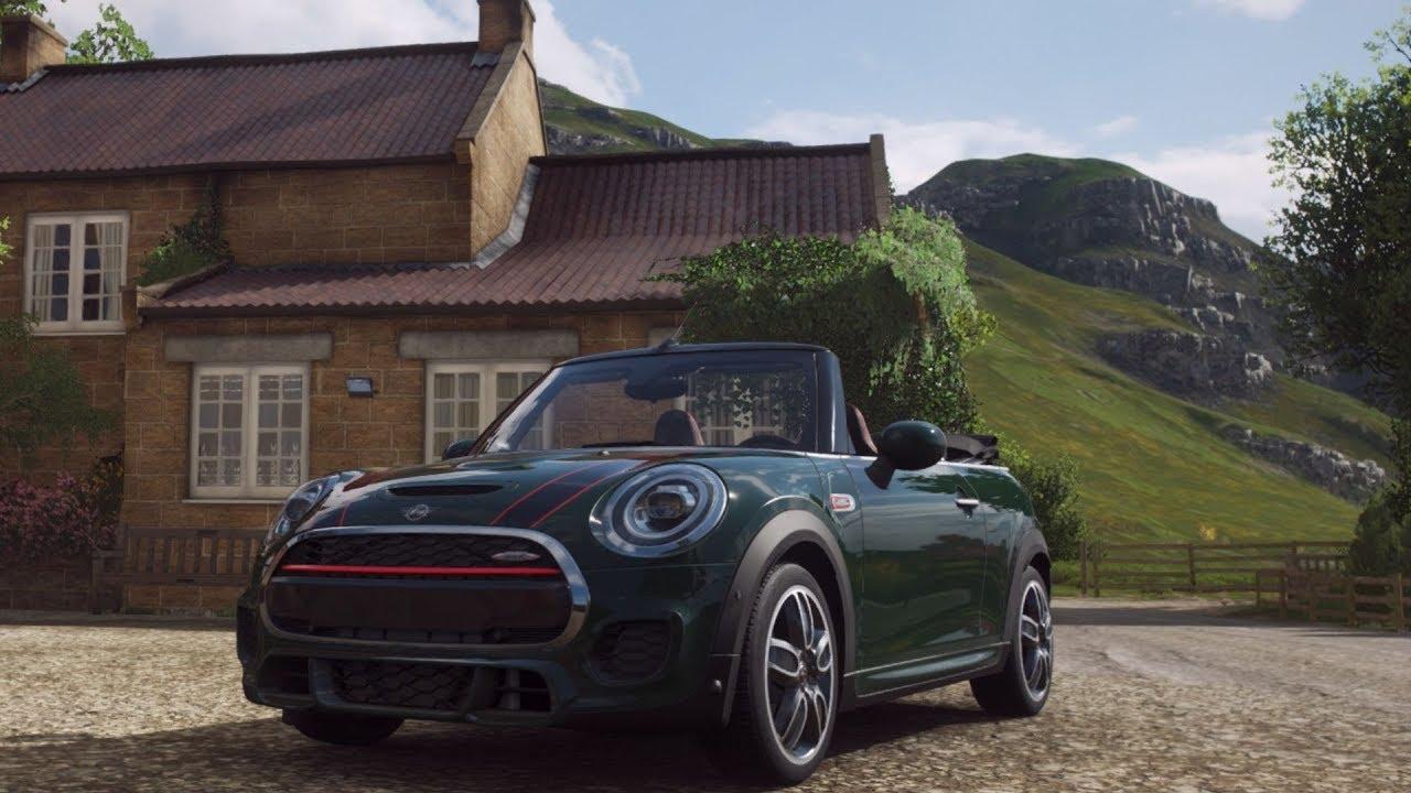 Forza Horizon 4 Mini John Cooper Works Cabrio Analysis And Test