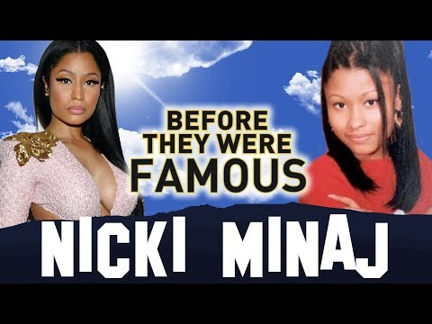 NICKI MINAJ - Before They Were Famous - 2015
