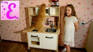 Детская Кухня ДУГТИК из IKEA обзор [Eva and Play](В этом видео показана кухня ДУКТИГ из IKEA, ее содержимое. Ева играет на кухне ДУКТИГ. Спасибо, что смотрите..., 2015-12-04T20:41:53.000Z)