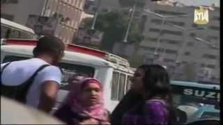 بنت بتعاكس رجالة في الشارع ...