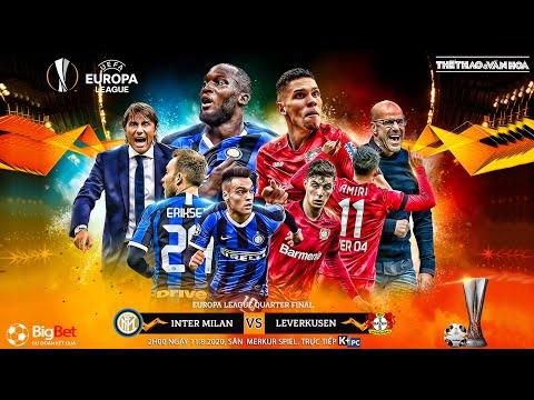 NHẬN ĐỊNH BÓNG ĐÁ Inter - Leverkusen (2h00 ngày 11/8). Soi kèo tứ kết Europa League. Trực tiếp K+PC