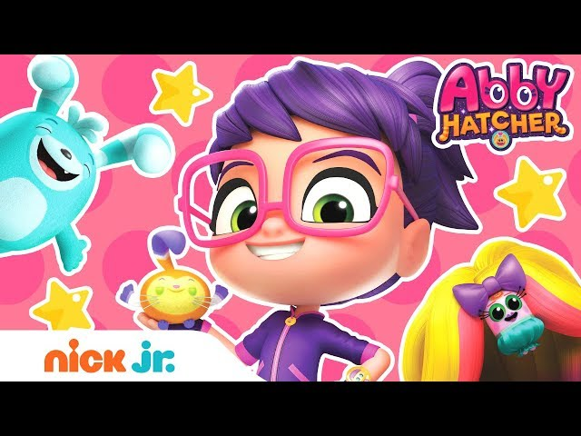 Abby Hatcher Fuzzly Friendship Song 🎶 + Guess the Colors w/ PAW Patrol, Blaze & More! | Nick Jr.