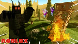 CAN WE SURVIVE THE HAUNTED SUMMER CAMP?! / ROBLOX
